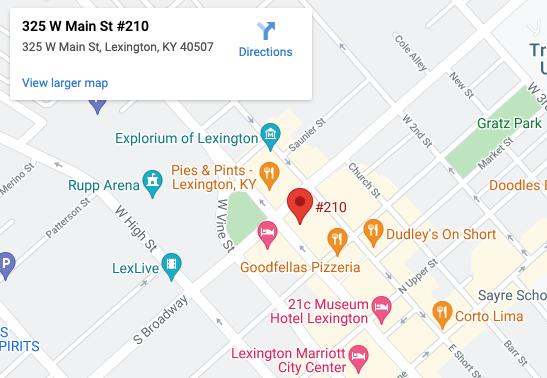 325 W Main St #210 Lexington, KY 40507  Hare Wynn Personal Injury Lawyers